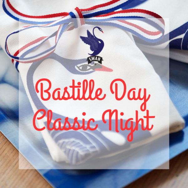 Bastille Day Classic Night Dinner